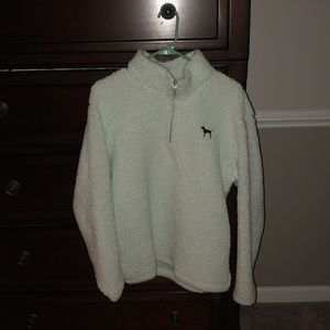 Mint Victoria's Secret Sherpa Pullover